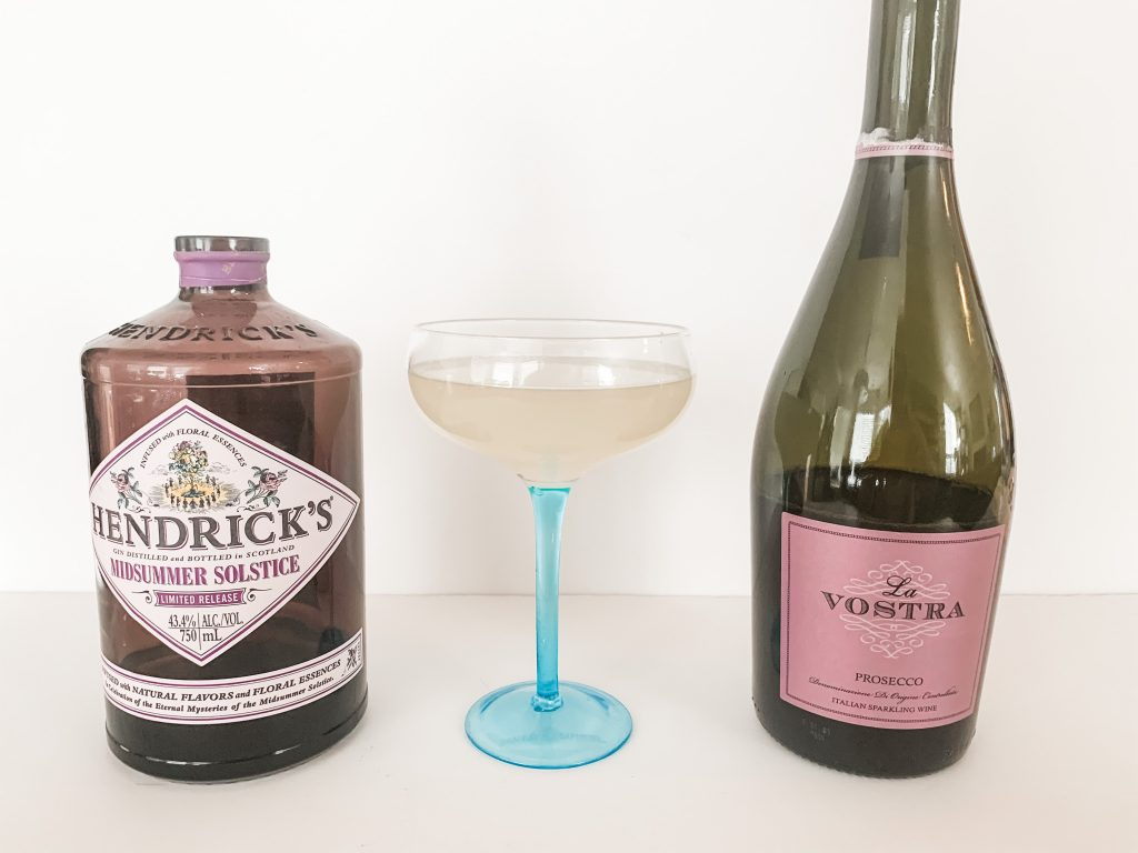 French 75 with Prosecco