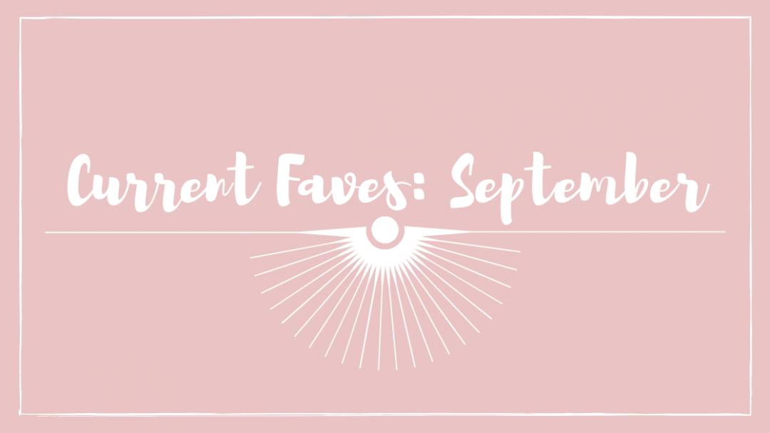 September Faves Banner