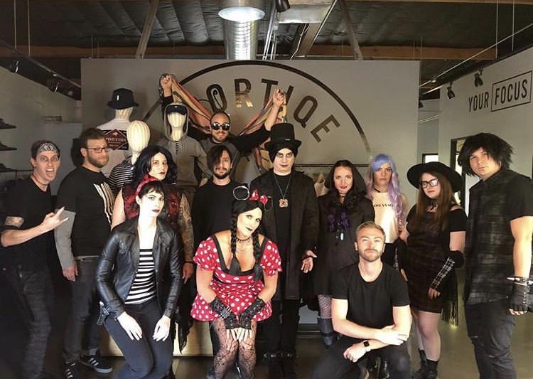 Halloween Happy Hour group